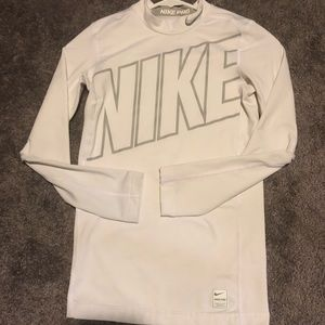 Boys Nike Pro long sleeve compression top